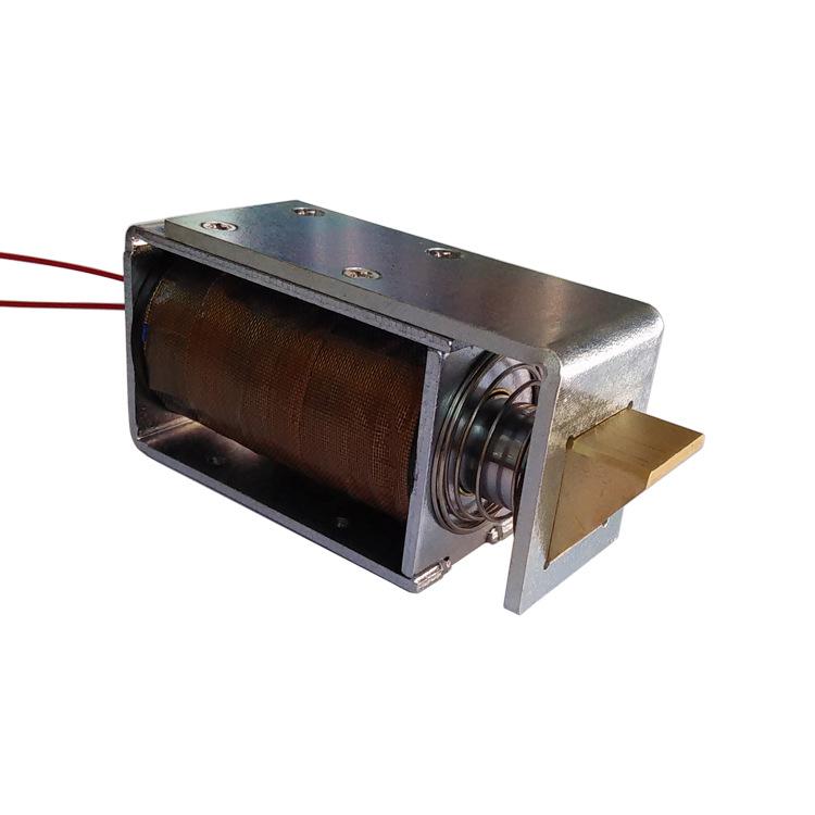 QDU1564锁用推拉电磁铁/带锁舌推拉电磁铁