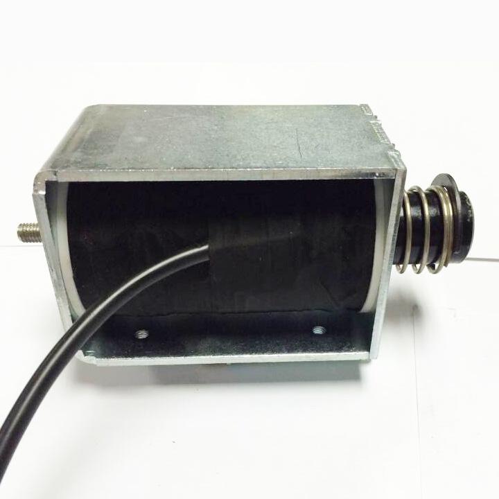 QDU30120推拉電磁鐵/40mm行程推拉電磁鐵