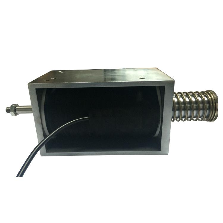大力量推拉電磁鐵/60mm行程推拉電磁鐵