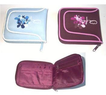 GJ-Y026 Two fold zipper wallet