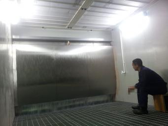 水洗式喷漆台