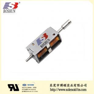 充电枪电磁锁、新能源电磁锁BS-K0734S-54