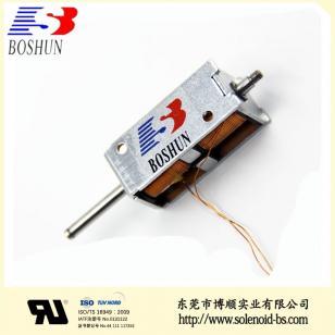 充电枪电磁锁,新能源电磁锁BS-K0734S-23