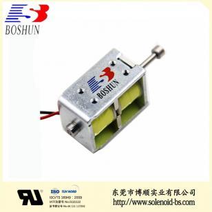 充電槍電磁鎖|新能源電磁鐵BS-K0837S-01