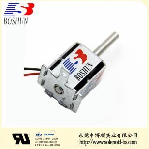 充電槍電磁鎖|新能源電磁鐵BS-0724N-37