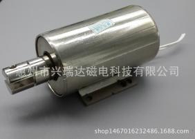 强推拉力,大行程圆管电磁铁SCT-3864/端子机切线机专用电磁铁
