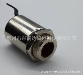 伸縮式圓管電磁鐵SCT-2525小型電磁開關限位專用電磁鐵