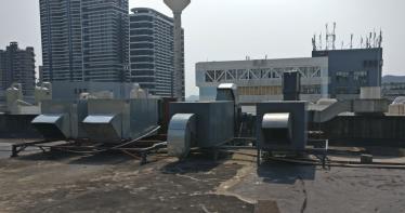 某工厂楼顶风机降噪工程