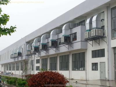 广州某制药公司生产车间通风工程
