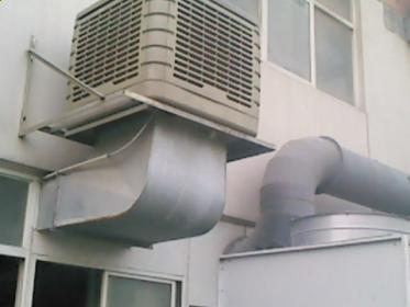 深圳某包装厂车间降温工程