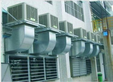 江门某印刷厂车间通风降温工程