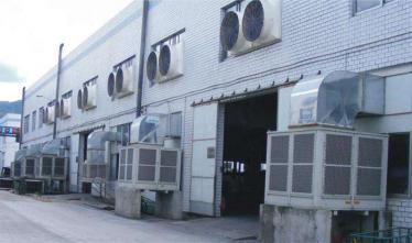 梅州某电子厂车间通风工程