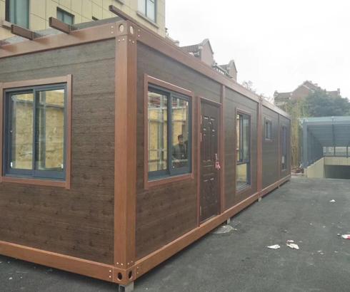 临时性房屋的新概念-集装箱房屋